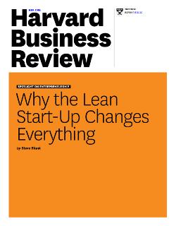 چرا Lean Startup همه چیز را تغییر می دهد
